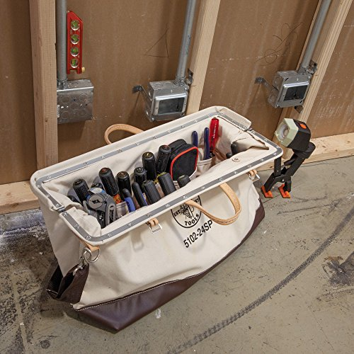 Deluxe Canvas Tool Bag, 24-Inch Klein Tools 5102-24SP