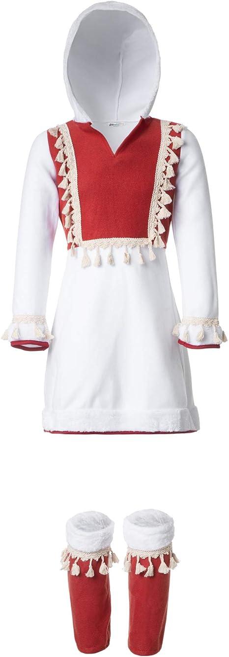 dressforfun 900516- Disfraz de Niña Adorable Esquimal, Vestido ...