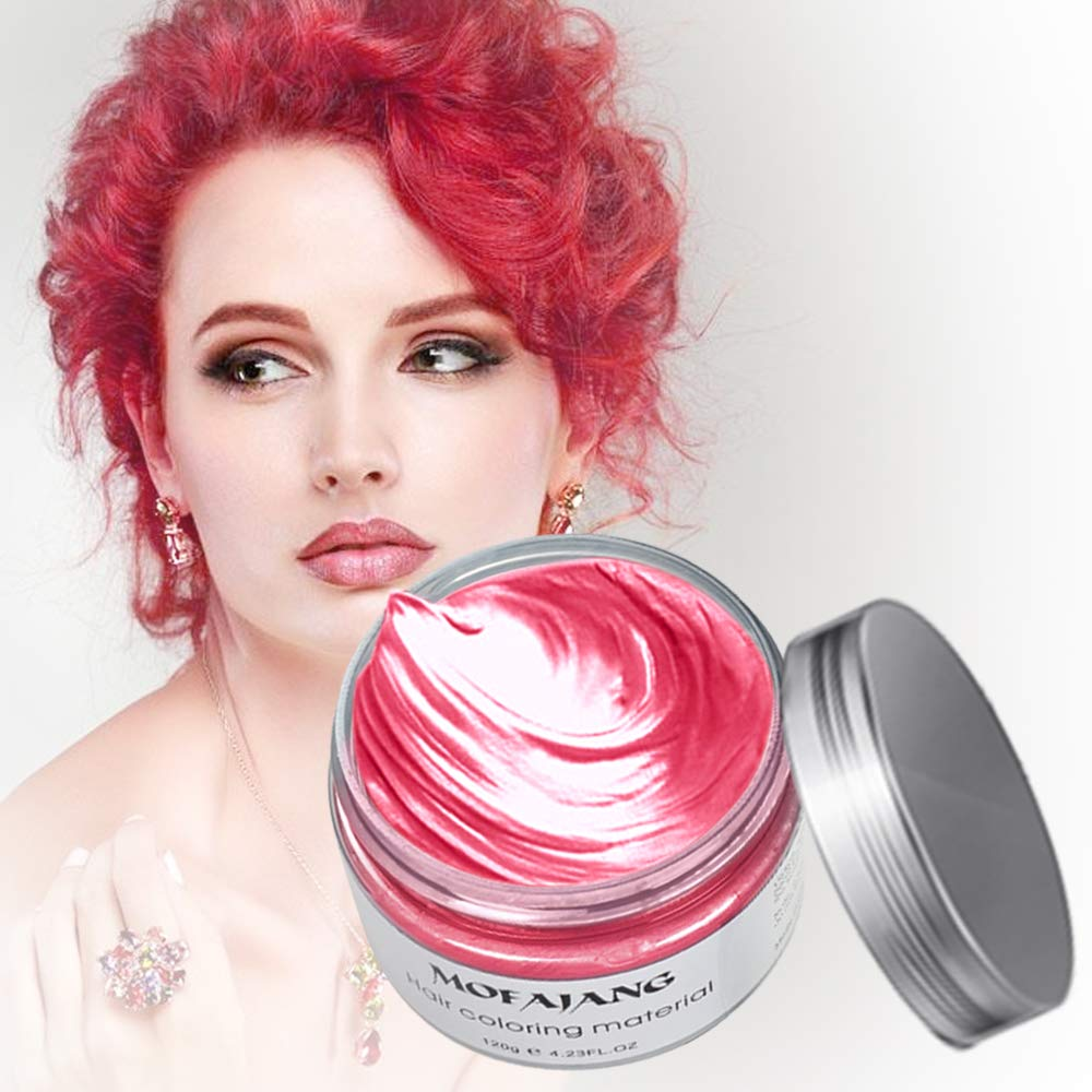 Amazon Arsty Temporary Hair Color Wax Instant Hair Pomades