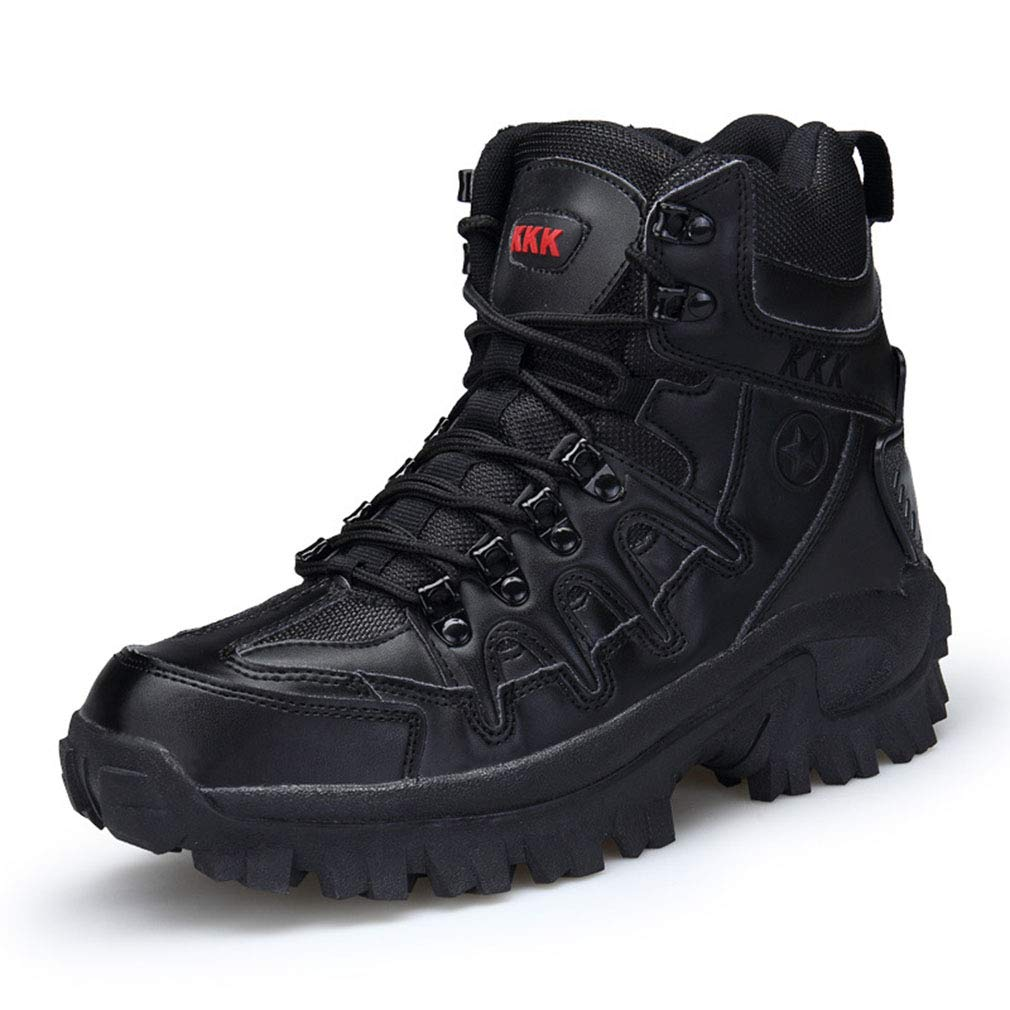 0c4e11422a2 A 41 Men's Boots Fall Winter New Outdoor Combat Boots Hightop Thick ...