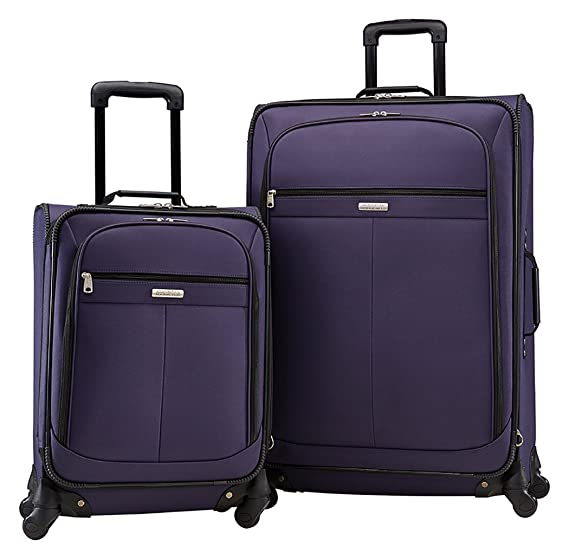 American Tourister Lightweight Two-Piece Spinner Set (21