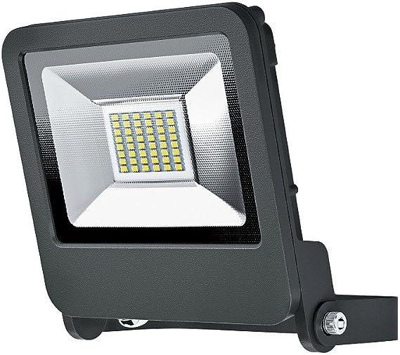 LED-Fluter OSRAM ENDURA FLOOD 30 W Kippbar 18,6 cm Weiß