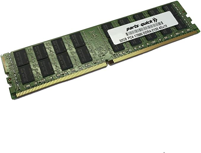 32GB Memory for HP ProLiant DL360 Gen9 (G9) DDR4-2133MHz LRDIMM (PARTS-QUICK Brand) at Amazon.com
