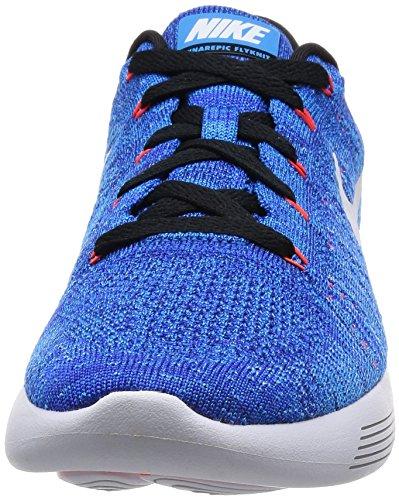 Low Da Flyknit Blue blue photo Corsa Nike Azul Scarpe White Uomo Lunarepic racer Glow Blue Cwq5BxIn1Z