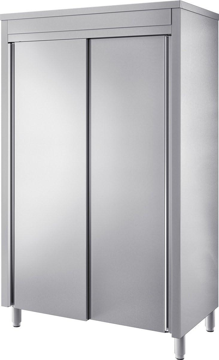 Gam Gastro Acero Inoxidable Estante Armario Armario puertas correderas 160 x 200 cm * * * NUEVO * * *: Amazon.es: Bricolaje y herramientas