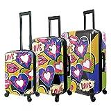 Mia Toro Italy Amore Hardside Spinner Luggage 3