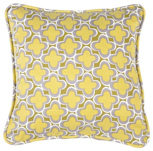 (Working Class Studio The Hostess Collection Marrakech Pillow, Gecko, 18-inch Square)
