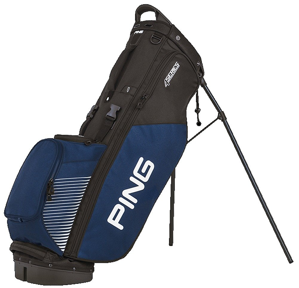 NEW Ping 4 Series Black/Navy/White Golf Carry Stand Bag by Ping (Image #1)