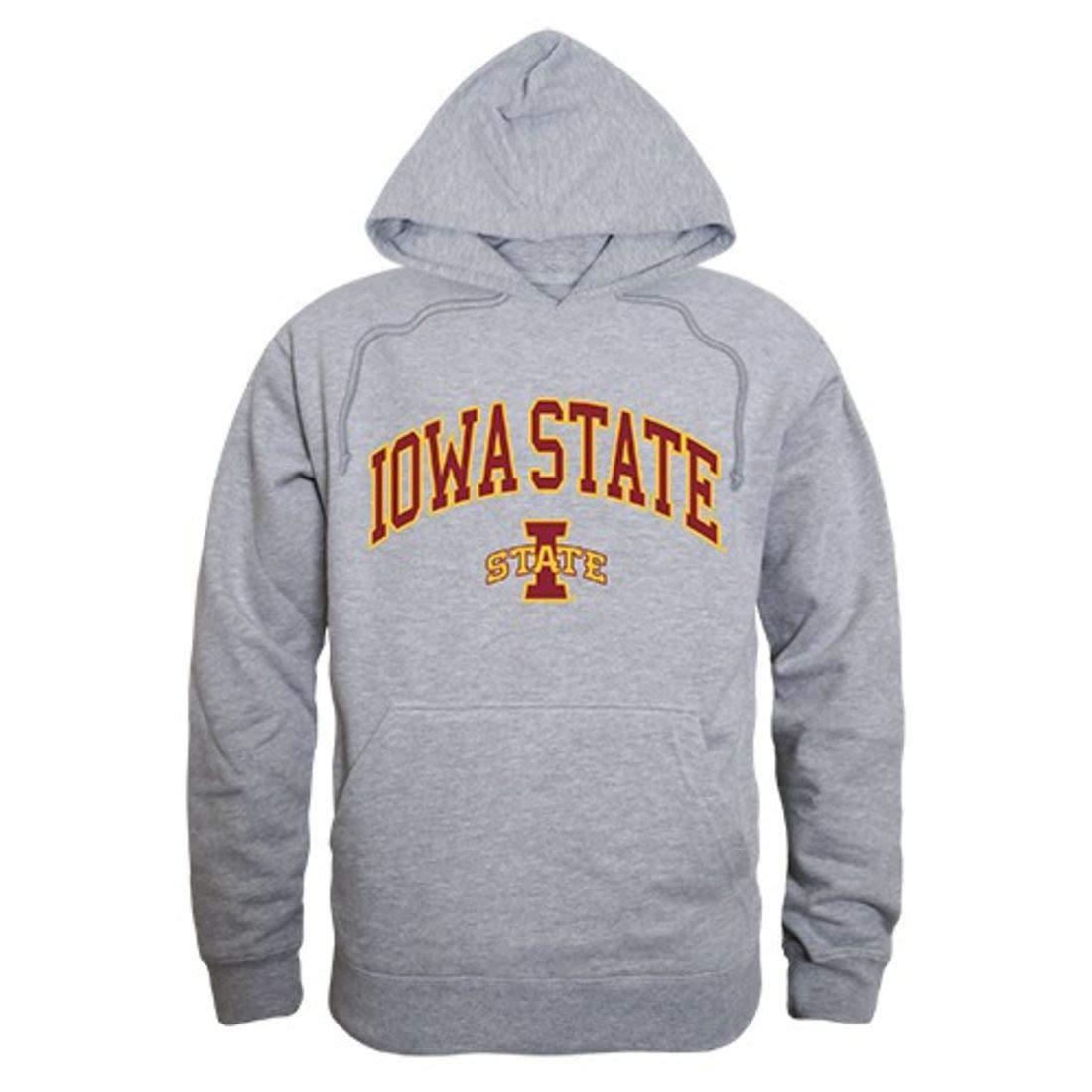 best website 12e45 19fd3 W Republic Apparel Iowa State University University University Cyclones  Campus Hoodie Sweatshirt Heather Grey b9b435