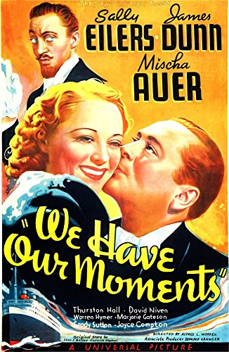 (Posterazzi We Have Our Moments Us Art from Left: Mischa Auer (Top) Sally Eilers James Dunn 1937 Movie Masterprint Poster Print (11 x 17))