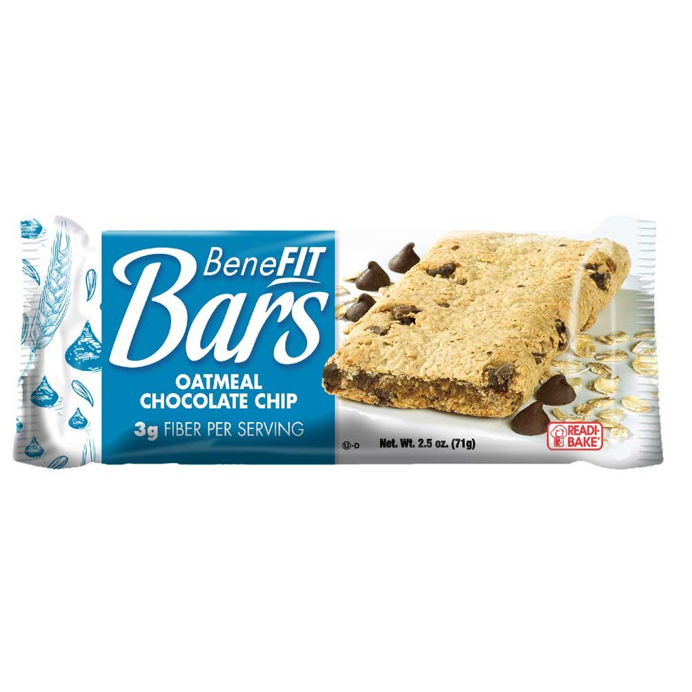 Benefit Bars Oatmeal Chocolate Chip