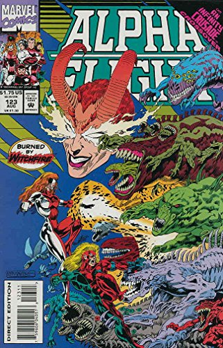 Alpha Flight (1st Series) #123 VG ; Marvel comic book