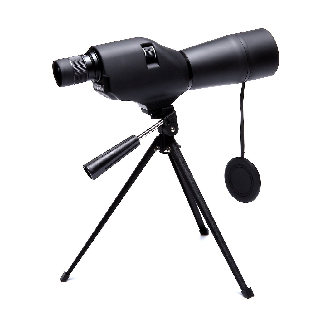 Hawkeye 20-60x60 Spotting Scope with Tripod, Waterproof Scope for Birdwatching Target Shooting (20-60x60)
