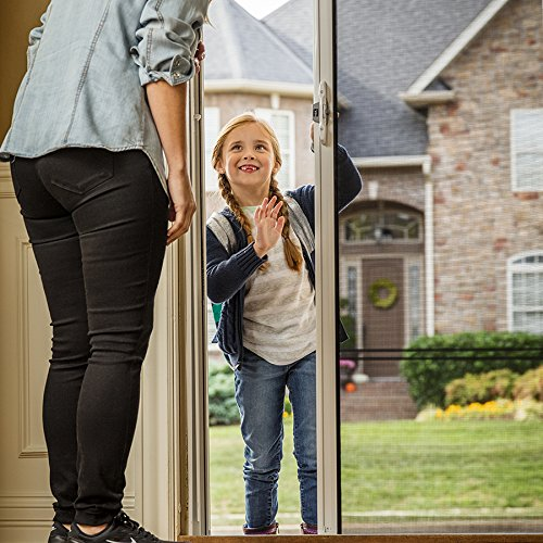 ODL Brisa Premium Retractable Screen for 96 in. Inswing/Outswing Hinged Doors - Sandstone by ODL (Image #7)