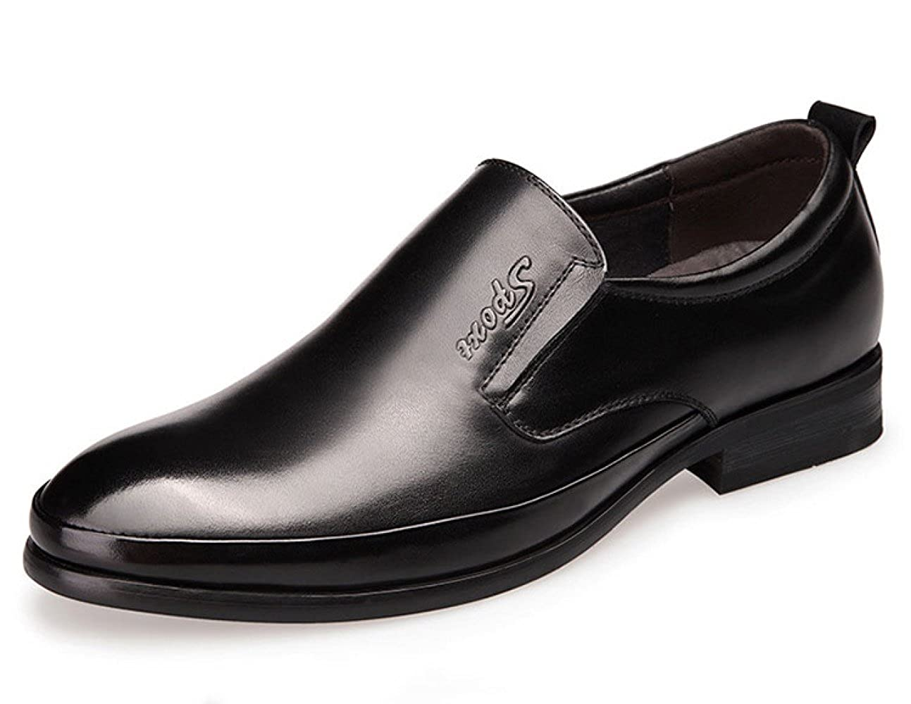 LEDLFIE Herren Lederschuhe Bequeme Breathable Geschäft Casual Herrenschuhe schwarz schwarz schwarz 984e6a
