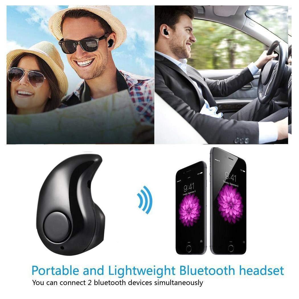 iuyem Einseitiger Stereo-Mini-Ohrhörer mit Freisprecheinrichtung Kopfhörer