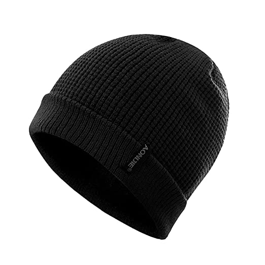 fe59dce06c2 Winter Beanie Hats,Warm Knit Beanie Hat Men Women Acrylic Stretch Slouchy  Skull Cap for Daily Outdoor Leisure Activities