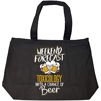 Amazon Gift For Toxicology Beer Lovers Weekend Forecast Present