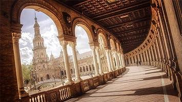 Rompecabezas 1000 Piezas Plaza De España Sevilla Regalo Diy Moderno Arte De Pared Regalo Único Decoración Para El Hogar: Amazon.es: Hogar