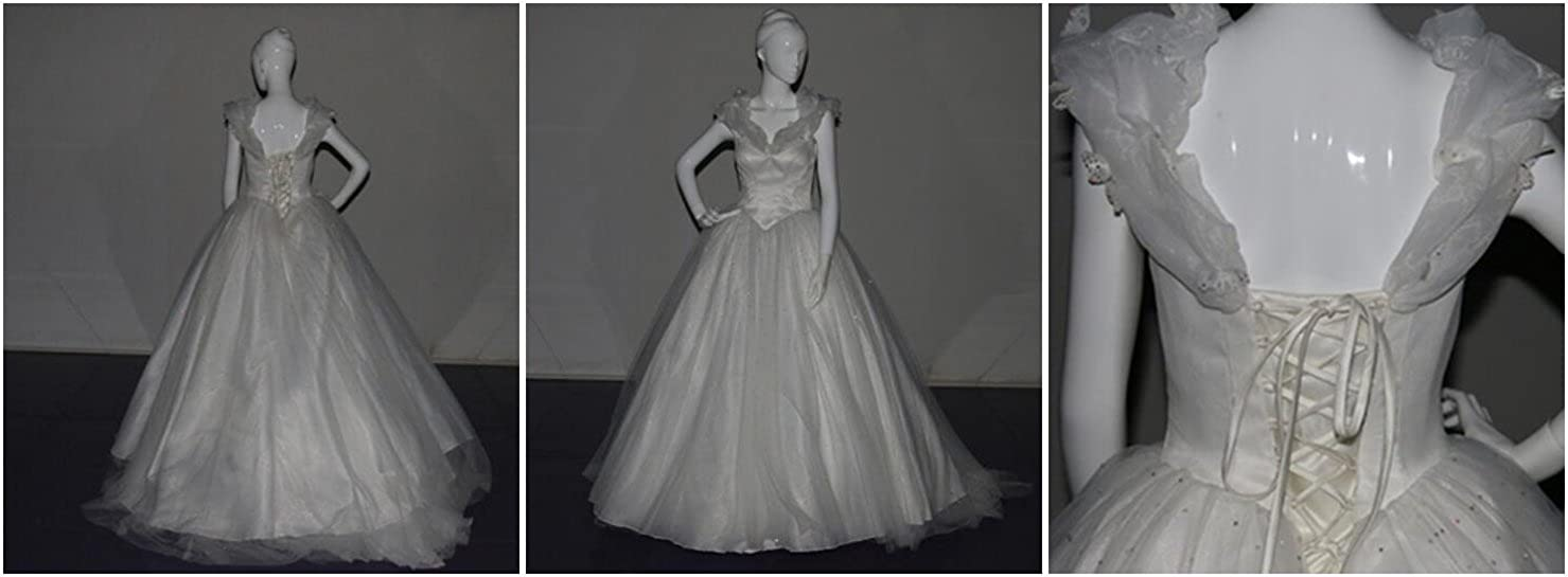 f1b53e7b2f9 Light Up Evening Dress Glow-in-The-Dark Wedding Dress Luminous Fiber Optic  Bridal Gown (Free) White at Amazon Women s Clothing store