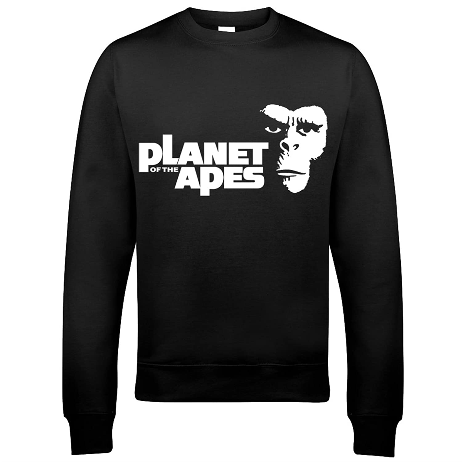 9102 Planet Of The Apes Mens Sweatshirt ANSA Gen-Sys Escape From Rise Battle For Beneath Retro