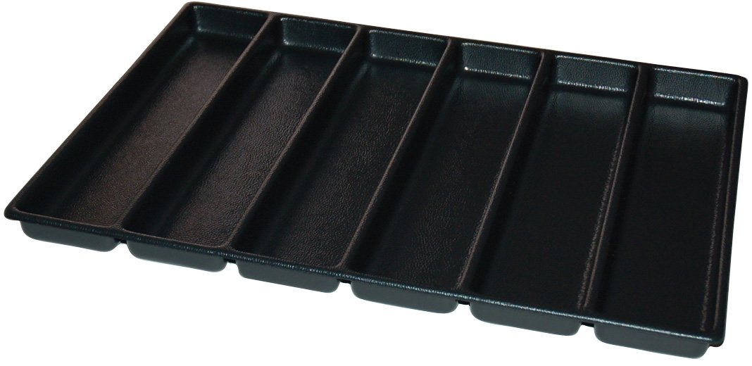 Kennedy Manufacturing 81927 2'', 6-Compartment Divider For 29'' W Kennedy Roller Cabinets & Chests, Industrial Black