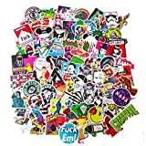 INSFIRE 100pcs Car Motorcycle Bicycle Skateboard Laptop Luggage Vinyl Sticker Graffiti Laptop Luggage Decals Bumper Stickers (300 pcs)