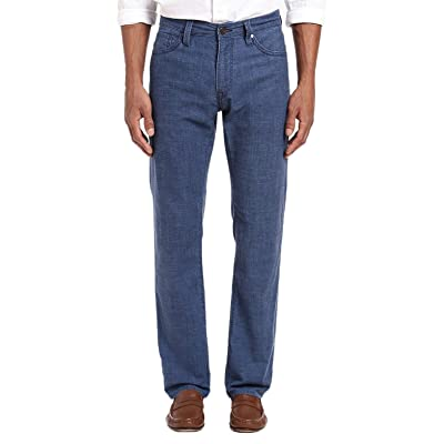 34 Heritage (Courage - Summer Chambray Mid-Rise Straight Leg Jeans at Men's Clothing store