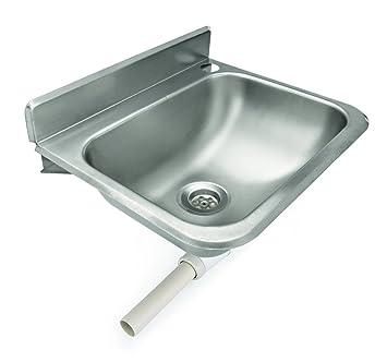 My Gastro Edelstahl Waschbecken Handwaschbecken 38x20x33 Cm Gastro