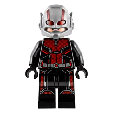 LEGO Marvel Ant-Man and the Wasp Movie Ant Man Minifigure 76109 Mini Fig: Toys & Games