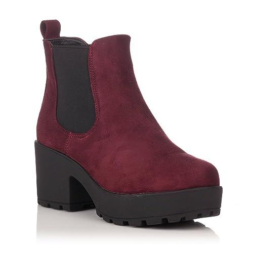 0cd7428f1 Complementos Amazon Irby De Botines Tacn Coolway es Zapatos Y n7fR8x