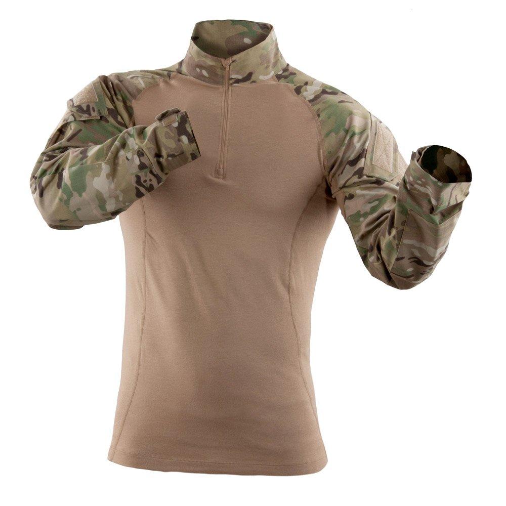 5.11 Camisa táctica TDU Rapid Assault estilo militar de manga larga, estilo 72185, Multicam