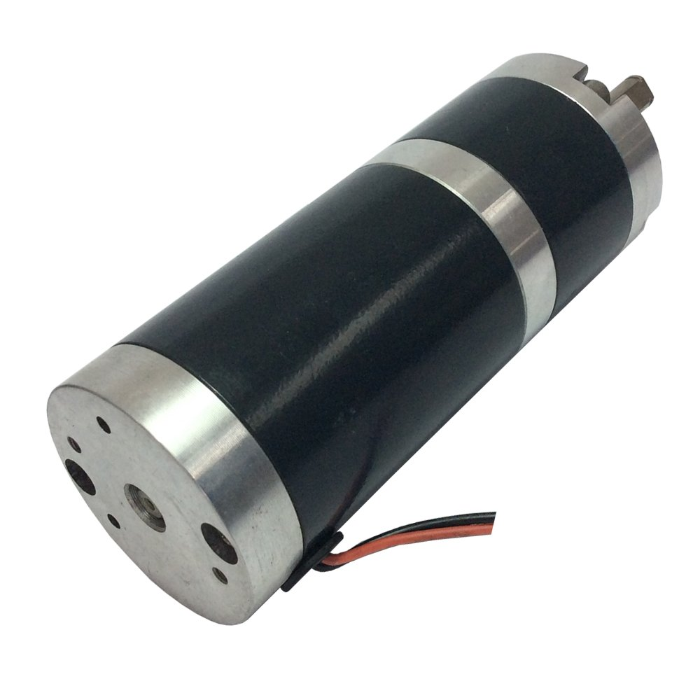 High Torque Reversible PMDC Gear Motor Diameter 45mm 12v 30 RPM Planet Geared Motor Long Life-span