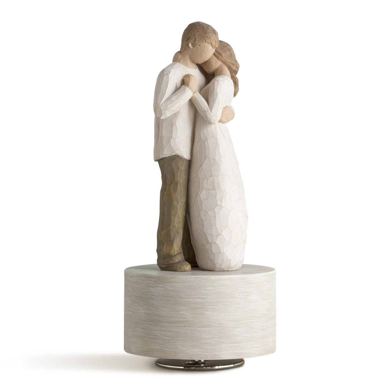 Willow Tree Promise Musical, sculpted hand-painted musical figure by Willow Tree