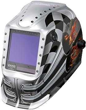 Lincoln Electric K3100 4 Viking 3350 Auto Darkening Welding Helmet With 4c Lens Technology Motorhead Amazon Com