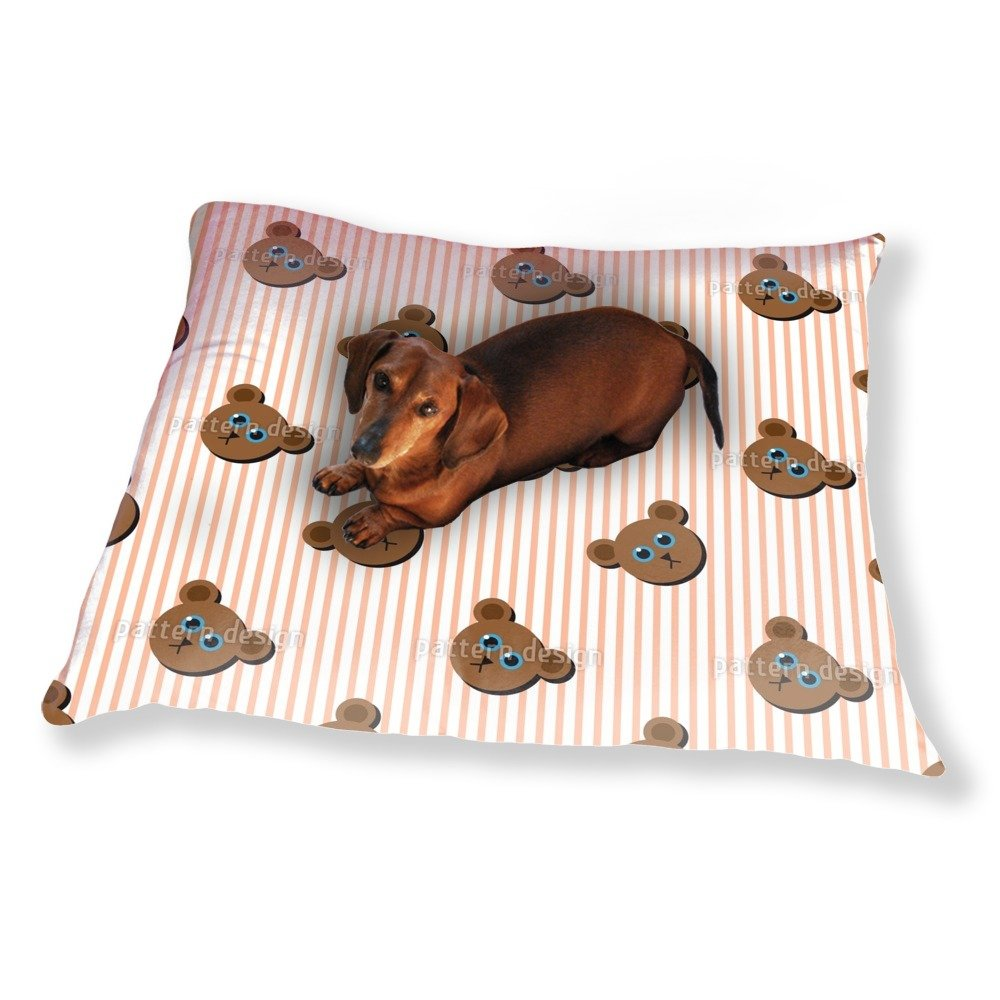 Mr Bear Dog Pillow Luxury Dog / Cat Pet Bed by uneekee (Image #1)