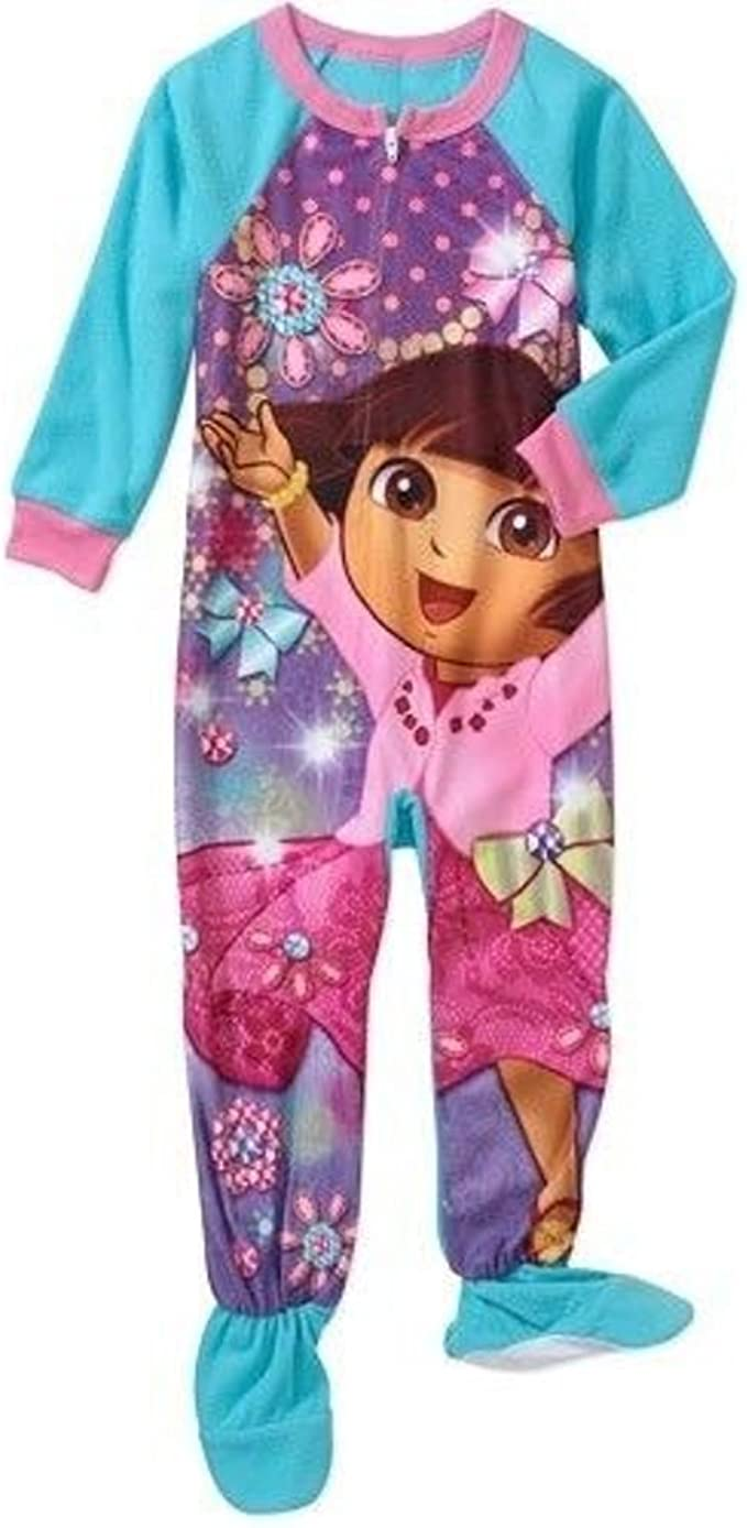 Dora the Explorer Infant /& Toddler Girl/'s Pajama Top /& Pants Size 12M or 3T NWT