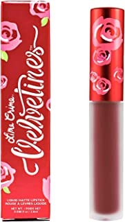 product image for Lime Crime Velvetines Liquid Matte Lipstick, Saint - Cranberry Red- French Vanilla Scent -Long-Lasting Velvety Matte Lipstick - Won't Bleed or Transfer - Vegan