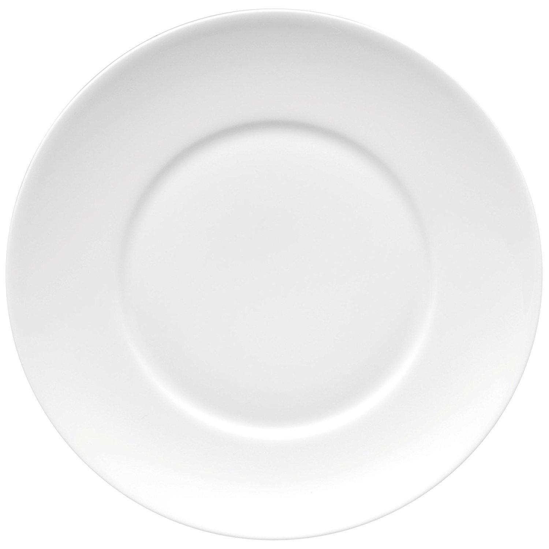 Medaillon Suppen-Untertasse Weiss