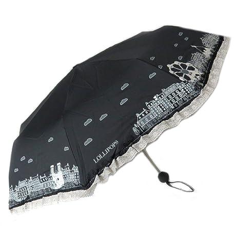 Paraguas mini Lollipopsnegro ...