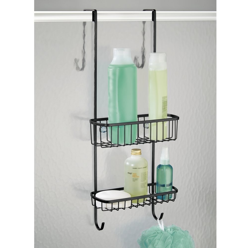 Great shower caddy over door gallery bathroom and shower - Accessori bagno plexiglass amazon ...