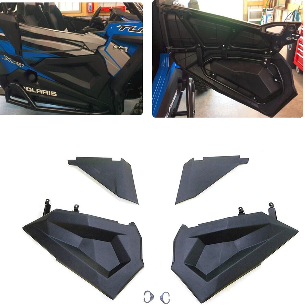 KEMIMOTO,Set of 2 Lower Half Door Inserts Panels for Polaris RZR S 900 XP 1000 Turbo