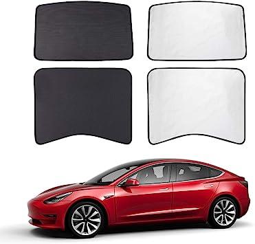 Roof SUMK Model 3 Glass Roof Sunshade Sunroof Sunshade Compatible for Tesla Model 3