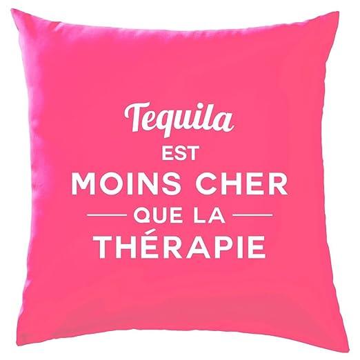 Tequila Es Más barato que la terapia - Cojín - 10 Color, 100 ...