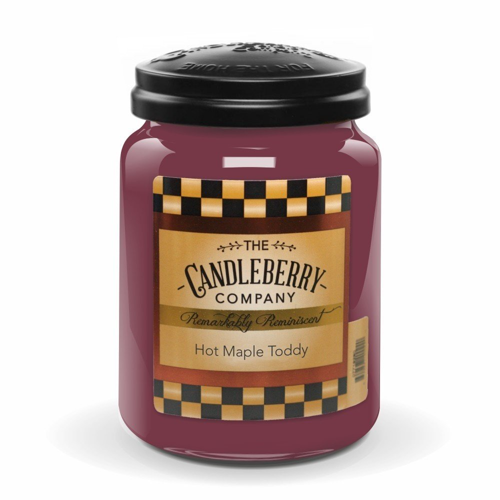 Hot Maple Toddy 26oz. Jar Candleberry Company 40102