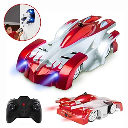Cars For 10 Year Olds >> Racing Car For 5 10 Year Old Boy Joyjam Rc Car Wall Climbing Car 360 Rotating Stunt Marvel Toy Cars Girl Birthday Gifts Pqc Red