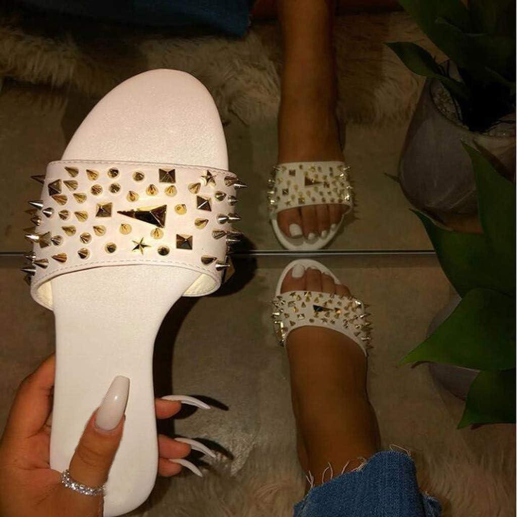 Sandals for Women Wide Width,2020 Bukcle Clear Comfy Platform Sandal Shoes Summer Beach Travel Fashion Slipper Flip Flops