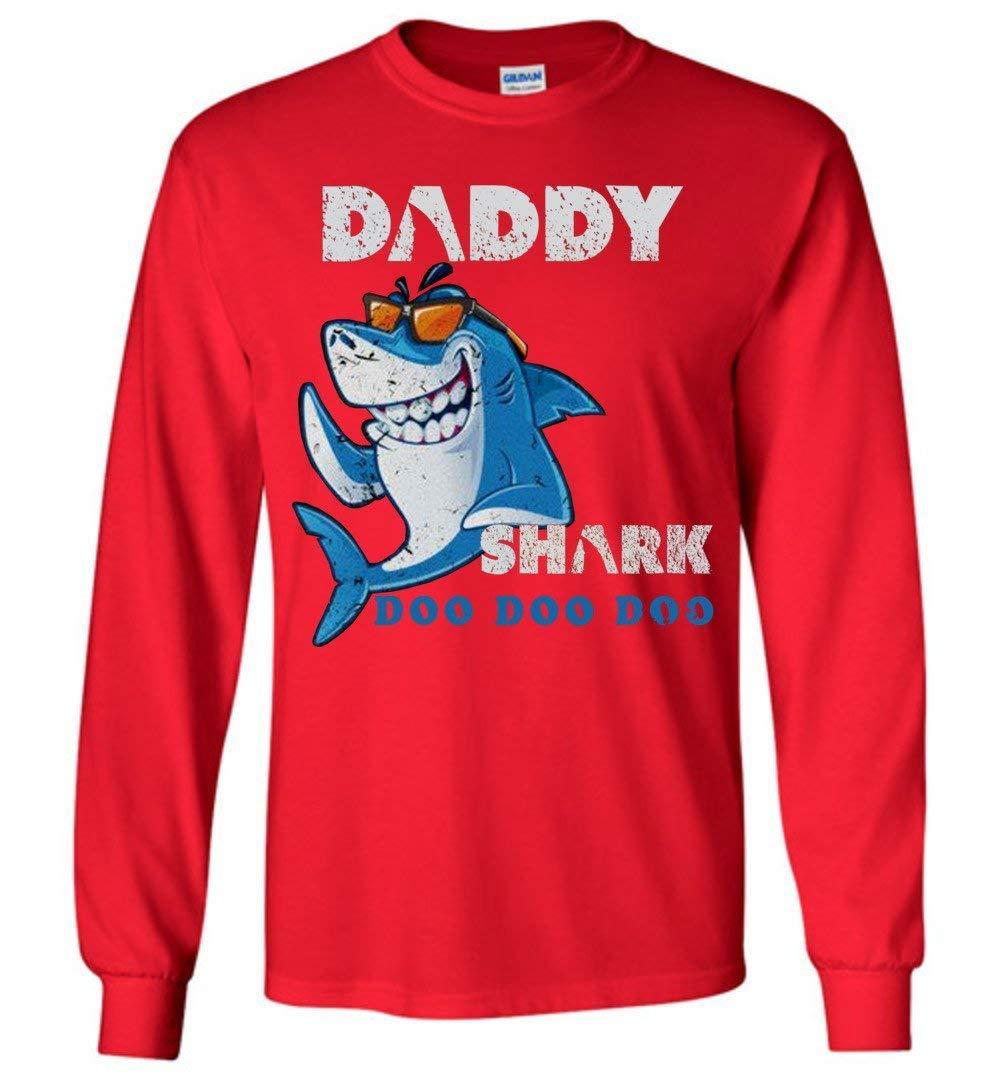 Daddy Shark Doo Doo Doo Vitage Style Gift Idea 5389 Shirts