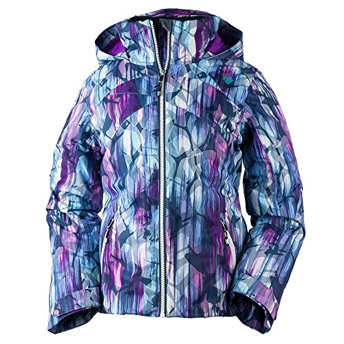 Obermeyer Kids Girl's Tabor Print Jacket (Little Kids/Big Kids) Escape Print Small by Obermeyer Kids