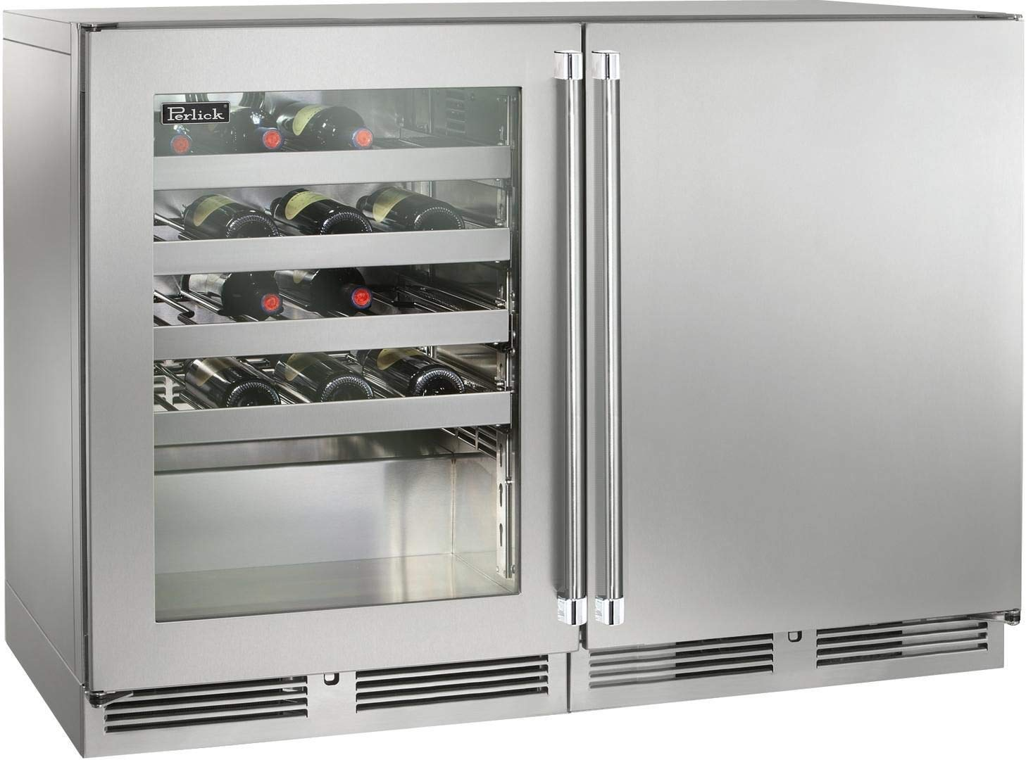 Perlick Signature Series 48 Inch Built-in Wine Cooler